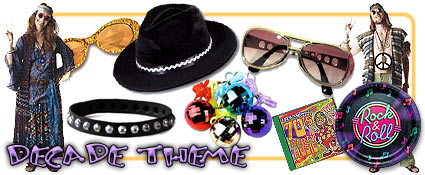 Decade Theme      Remember When!